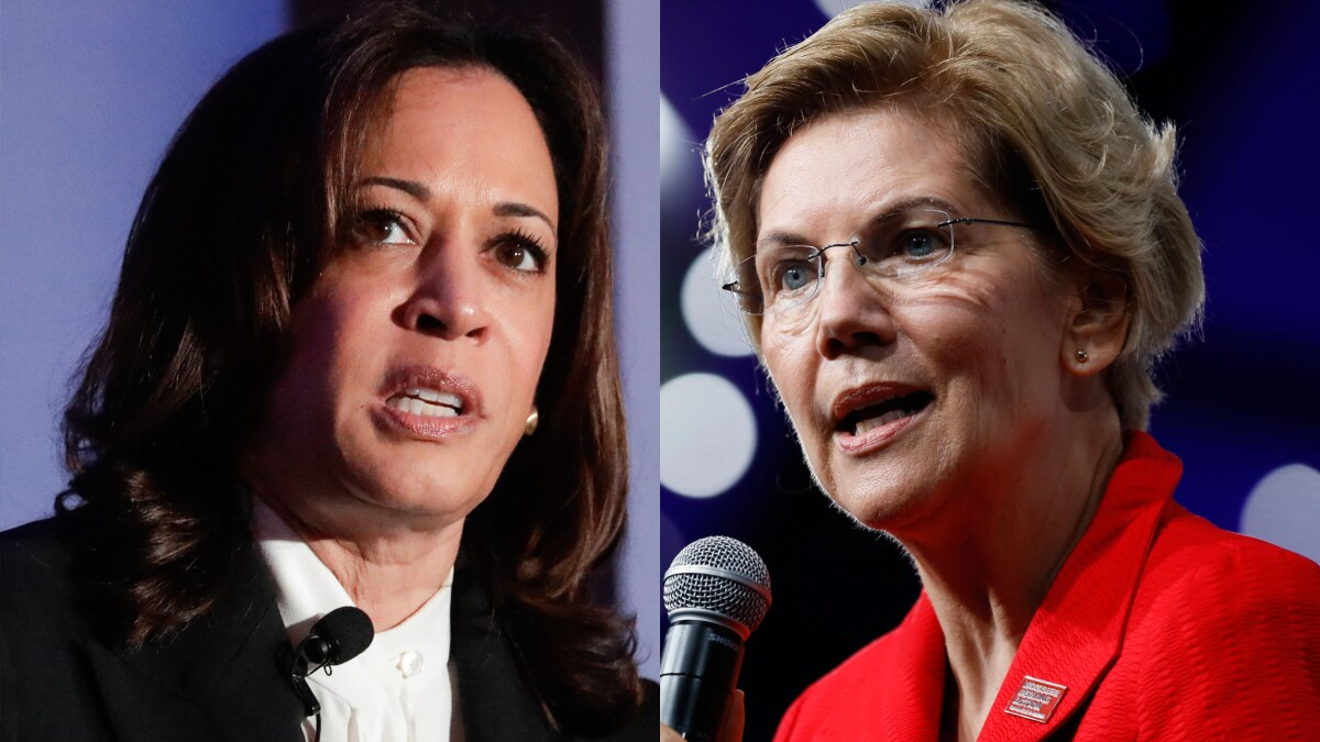 Newsrooms actually call out Kamala Harris and Elizabeth Warren for lying about Michael Brown's death