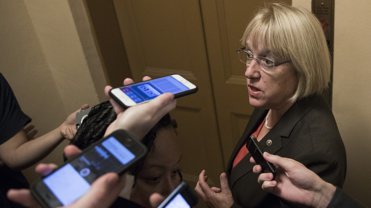 Sen. Patty Murray: 'Mental health issues don't cause mass shootings'