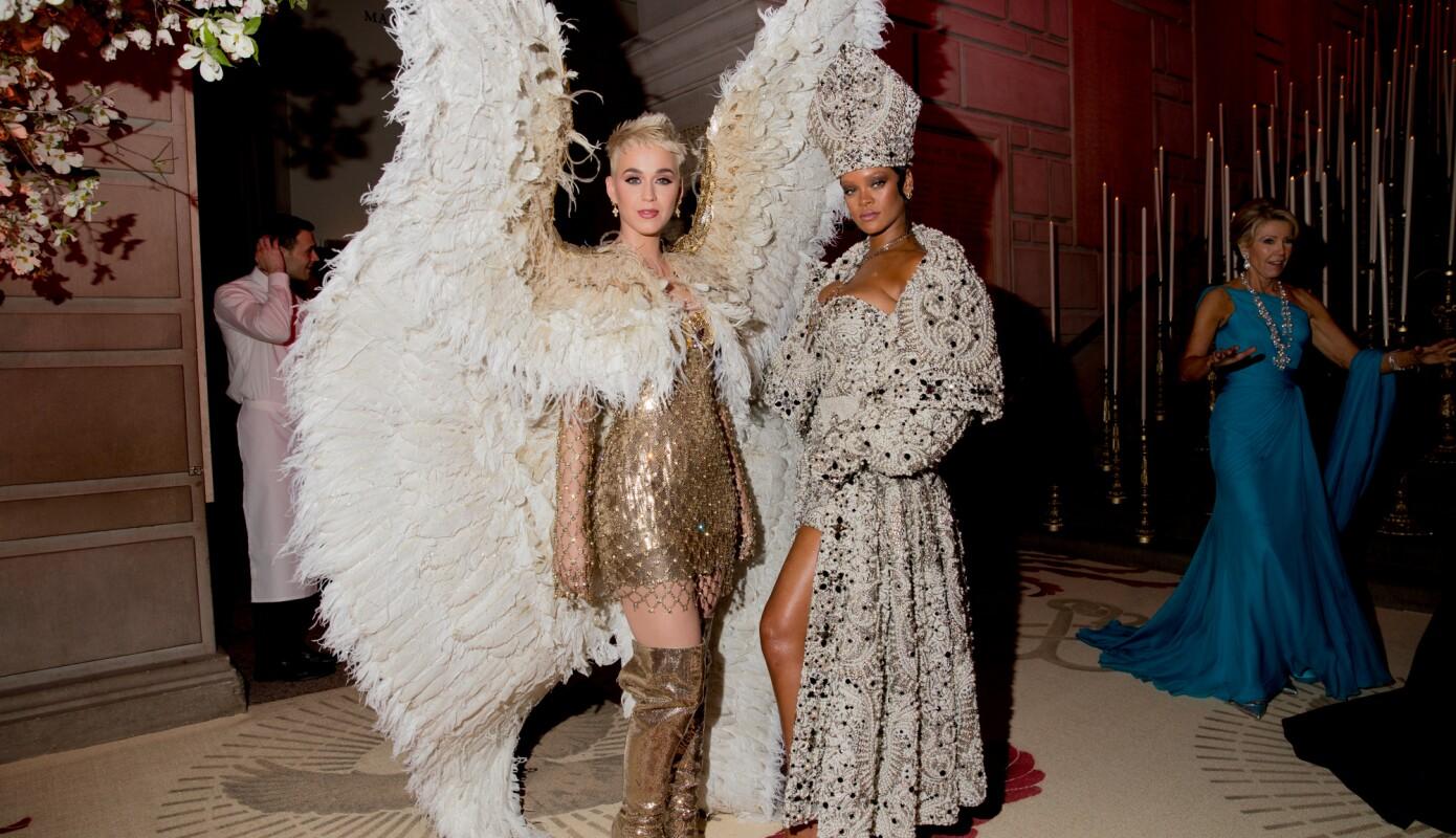 Katy Perry Rihanna Met Gala