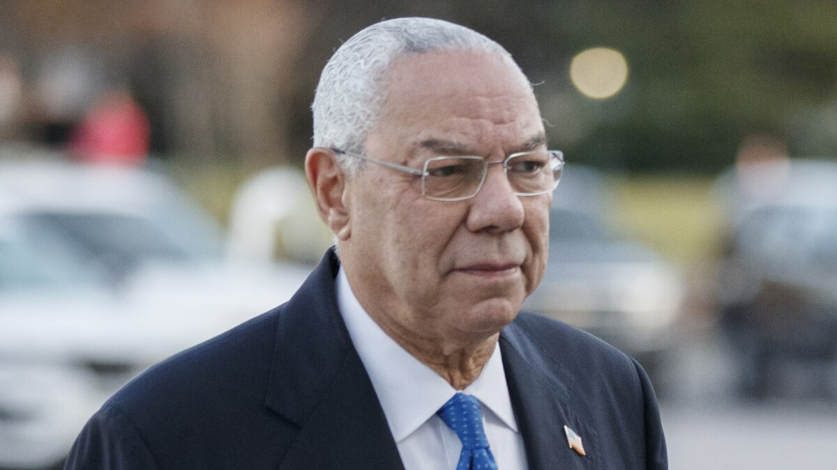 'Get a grip': Colin Powell scolds Republicans for enabling Trump