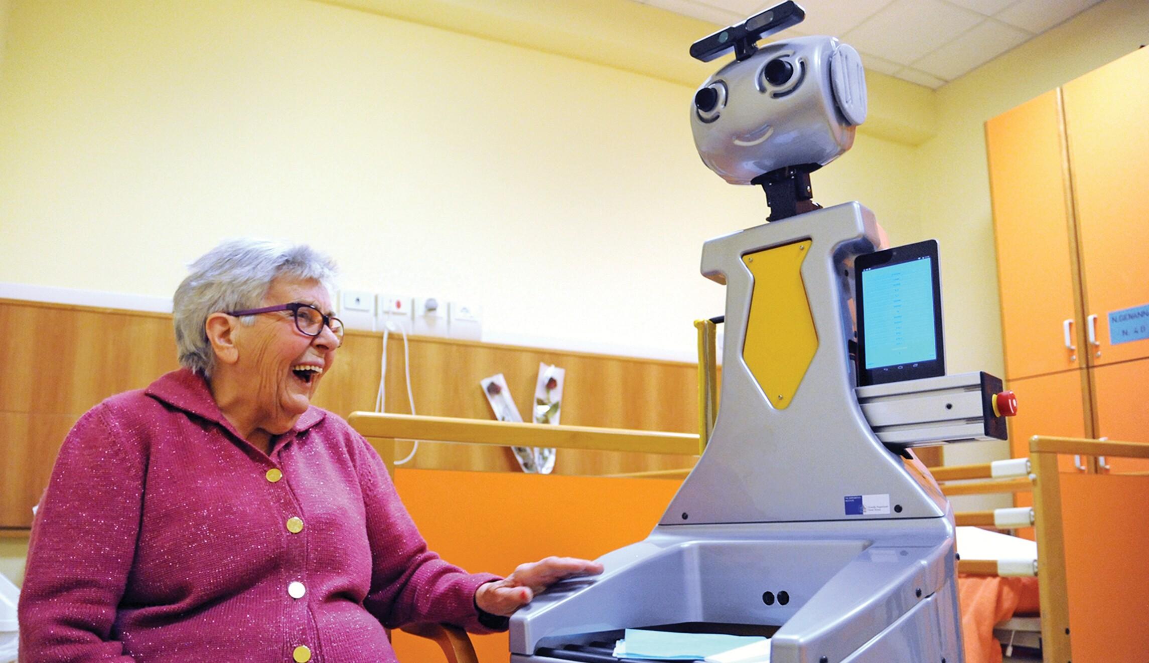 Meet your robot caretaker