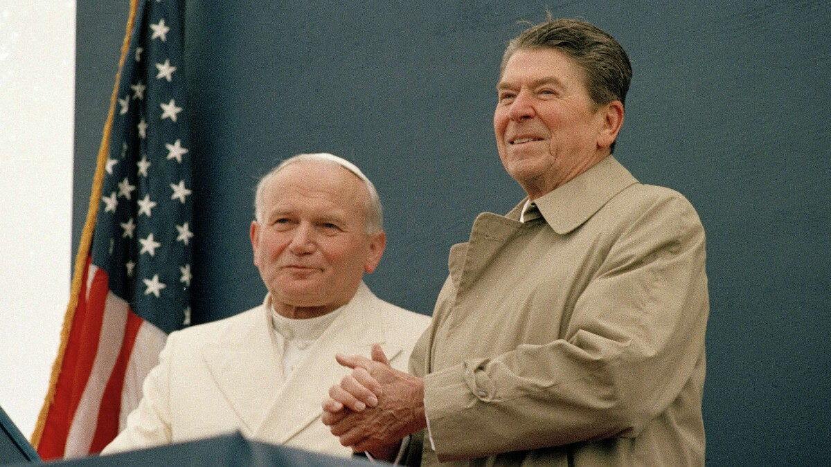 Ronald Reagan and Pope John Paul II showed how Catholics and Protestants can unite