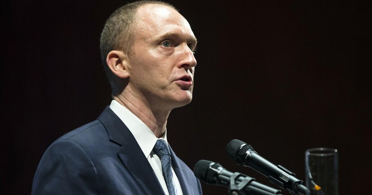 Carter Page slams FISA report as 'sloppy' - Washington Examiner