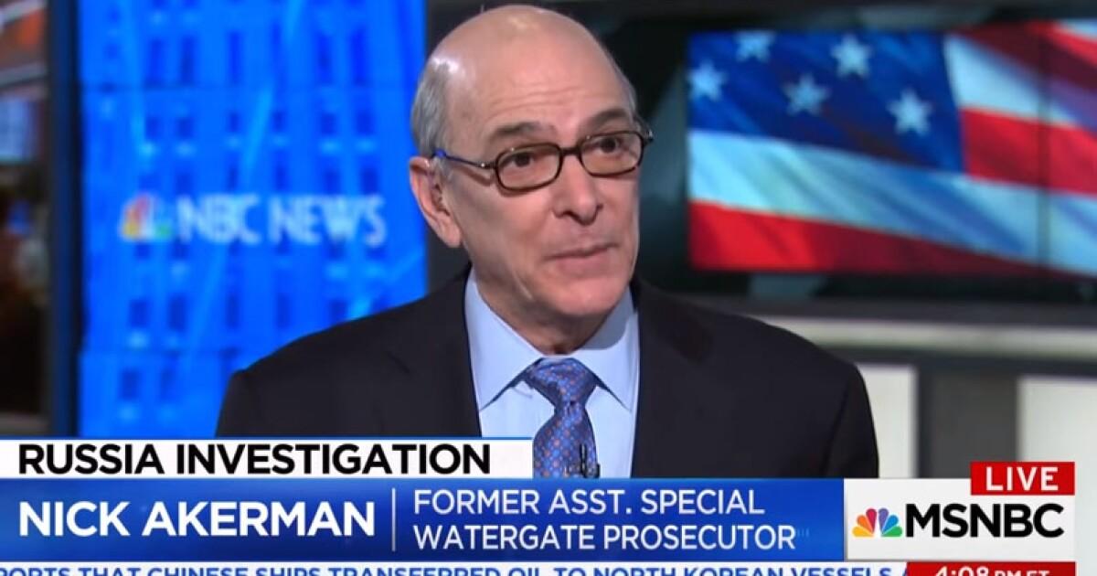 Former Watergate prosecutor: The 'big enchilada' Trump and
