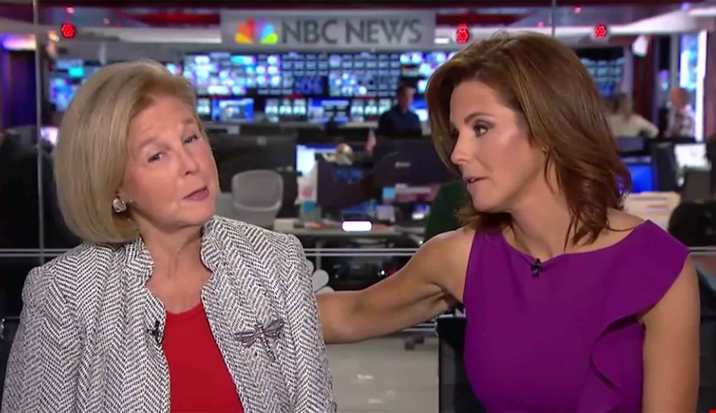 MSNBC anchor Stephanie Ruhle brings mom on air to lecture Trump