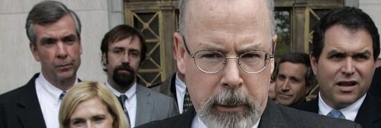 U.S. Attorney John Durham is seen.