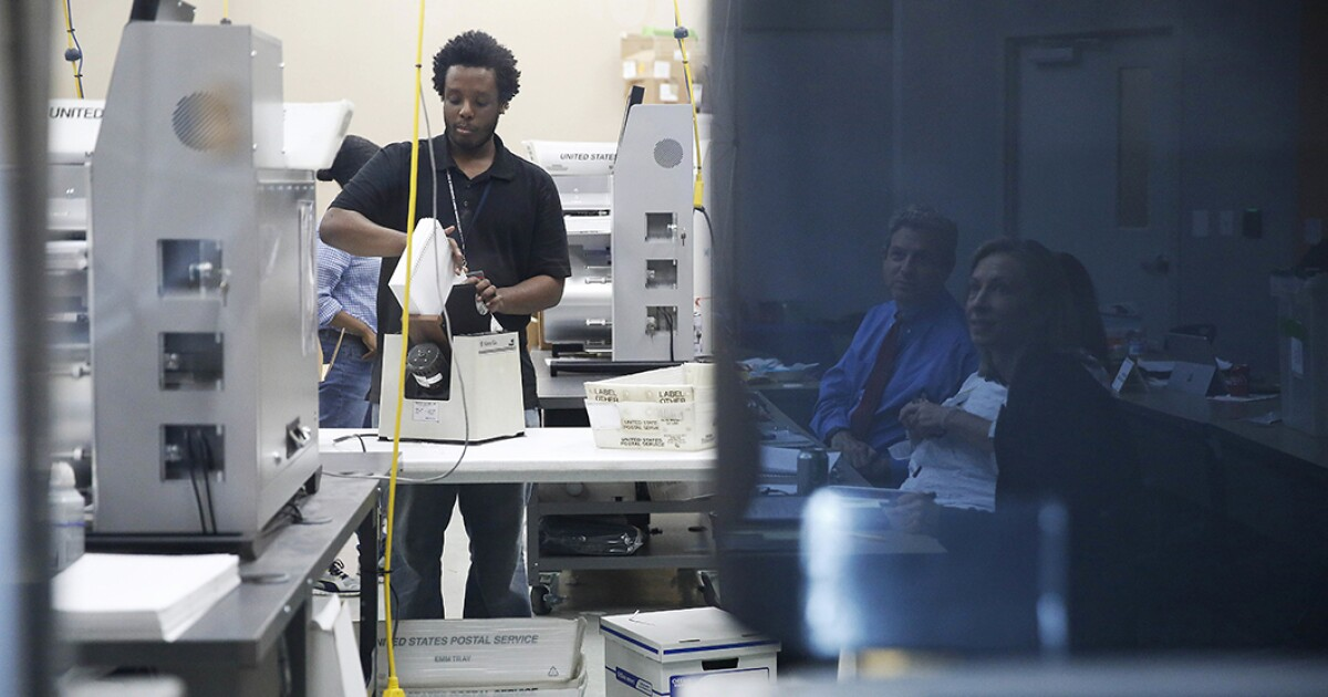 Broward and Hillsborough Counties fail--or refuse--to submit recount totals that would have expanded GOP margins in Florida