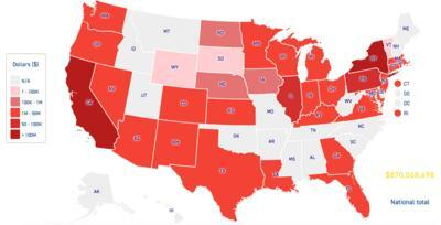 Top 3 \'sanctuary states\' voted big for Clinton, will lose ...
