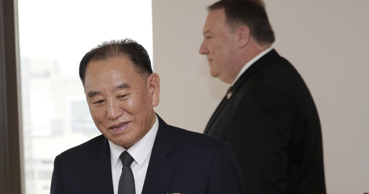 Kim Yong Chol's smile conceals his hard-line North Korean brain