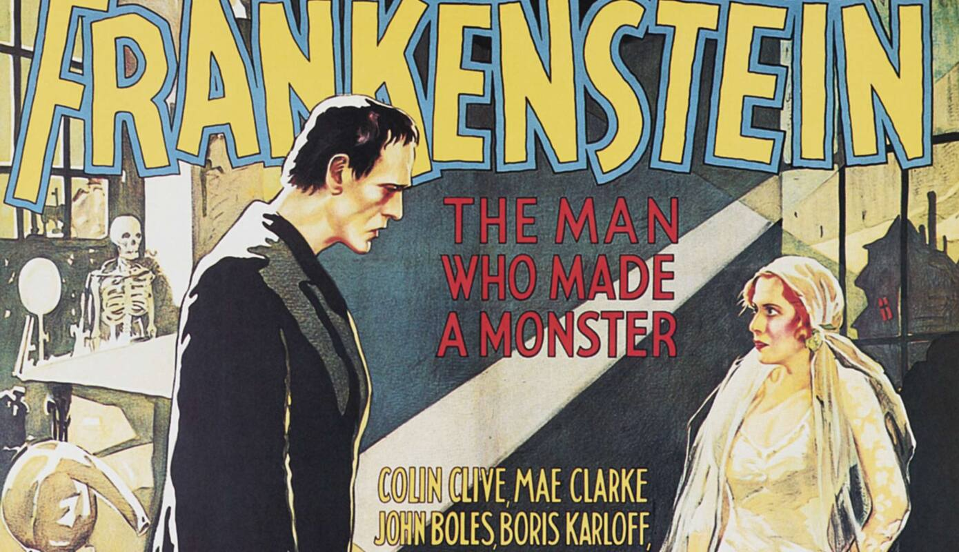 Poster for the 1931 'Frankenstein'