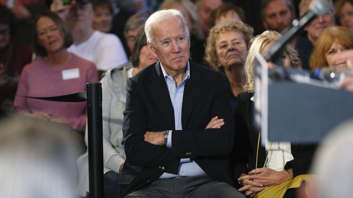 'No, I didn't': Biden denies calling Iowa voter 'fat'