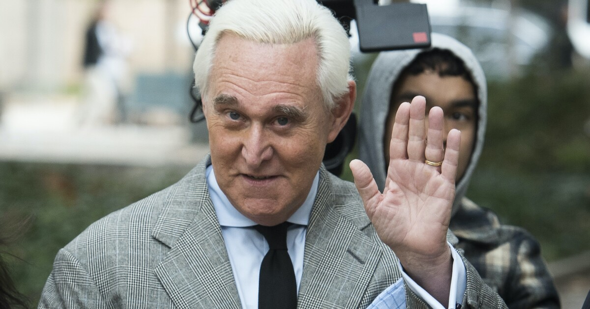 Roger Stone intervention just Trump`s latest abuse of...