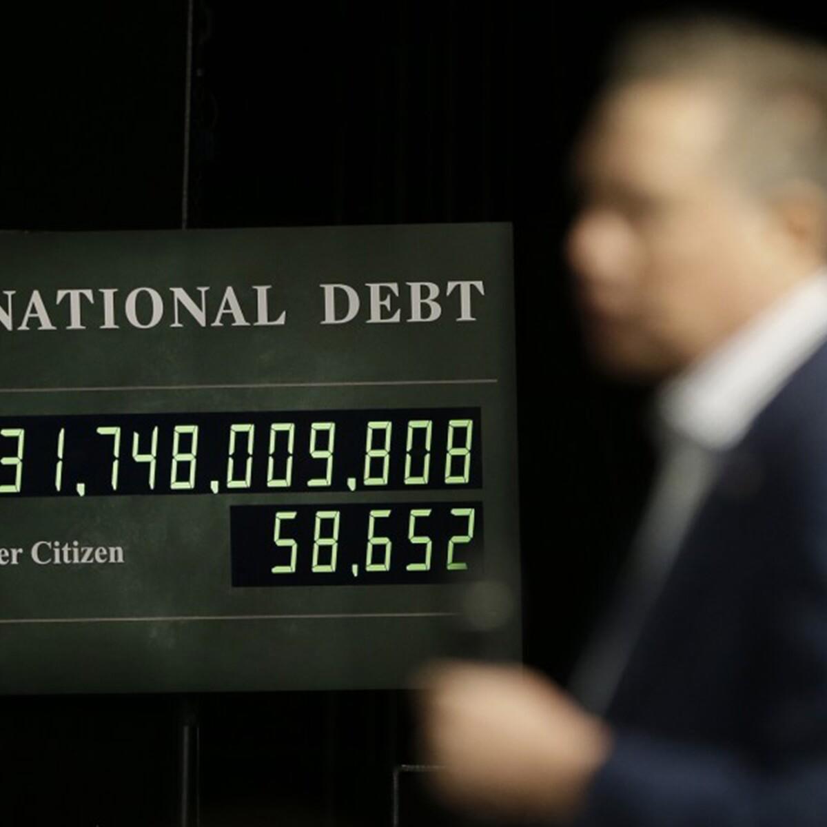 National debt hits 21 trillion