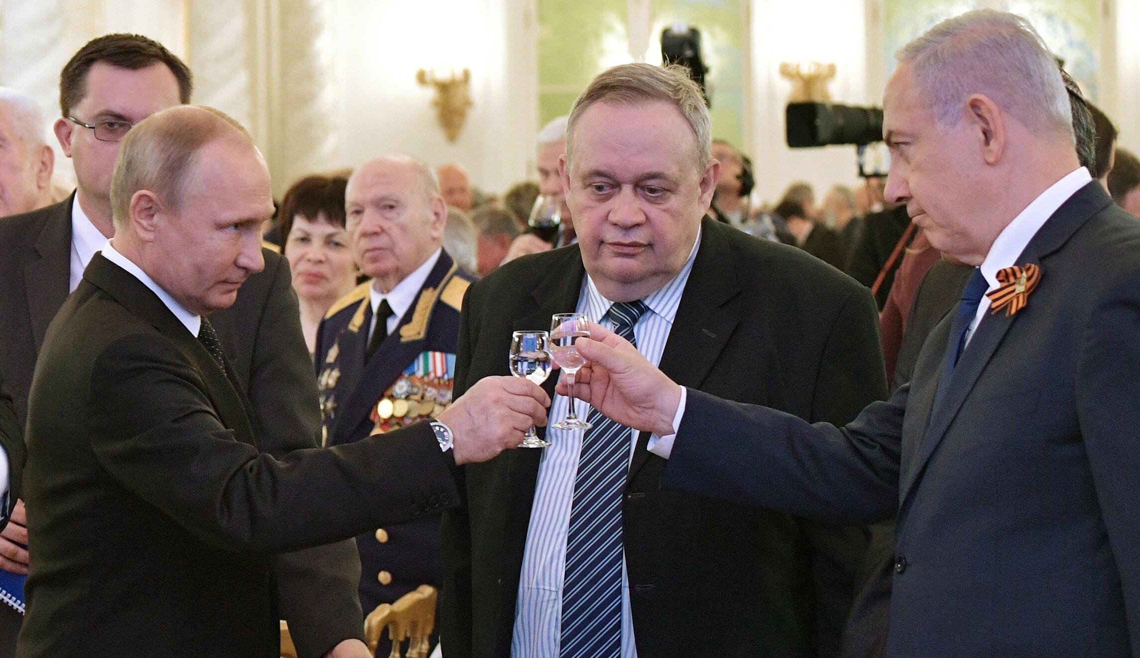 Image result for Netanyahu putin