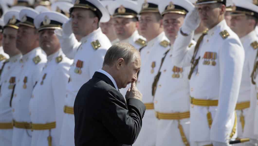 Russia Navy Putin