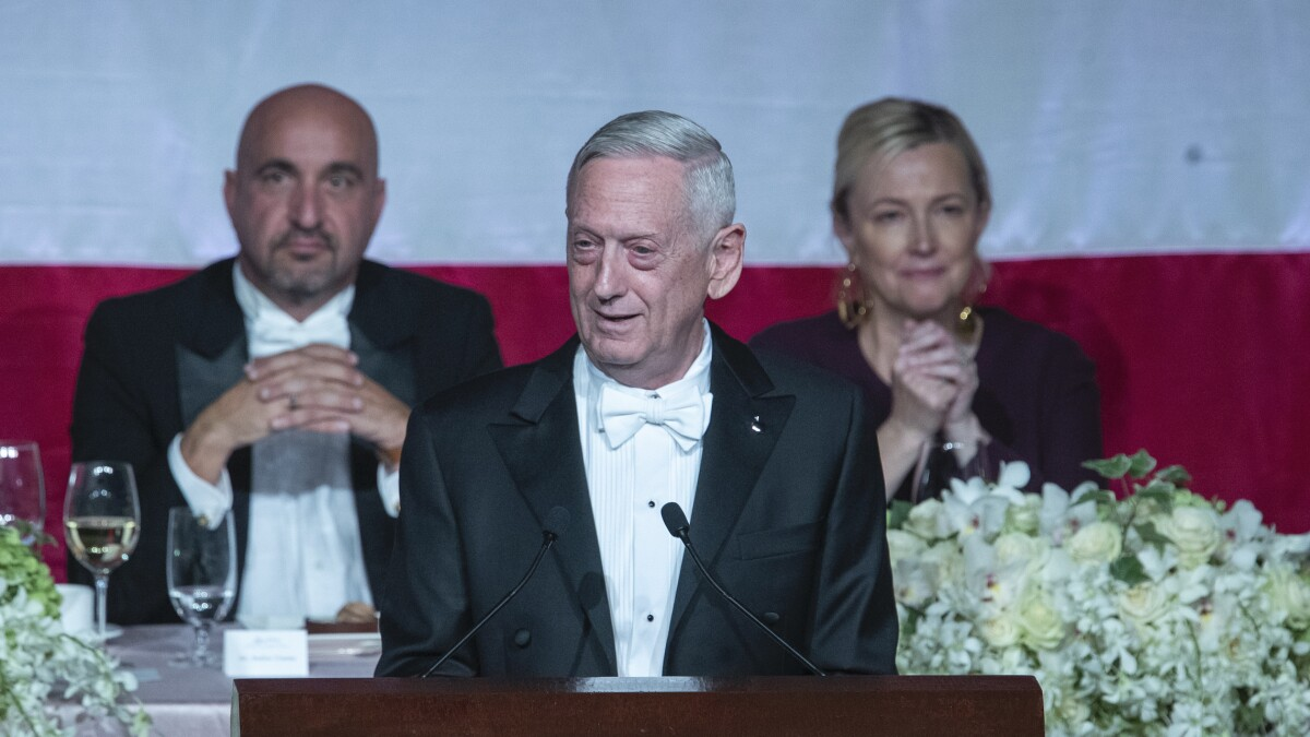 General Mattis demonstrates how to respond to Trump insults