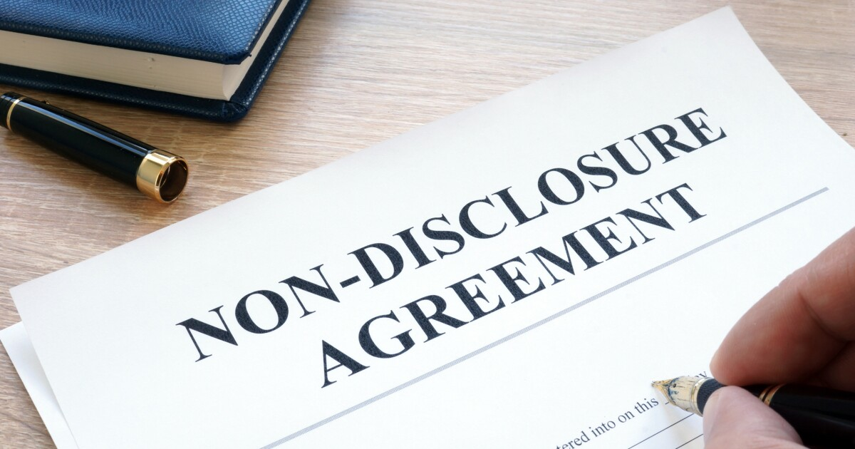 Nondisclosure Agreements Are Abused We Need Criminal Justice Reform