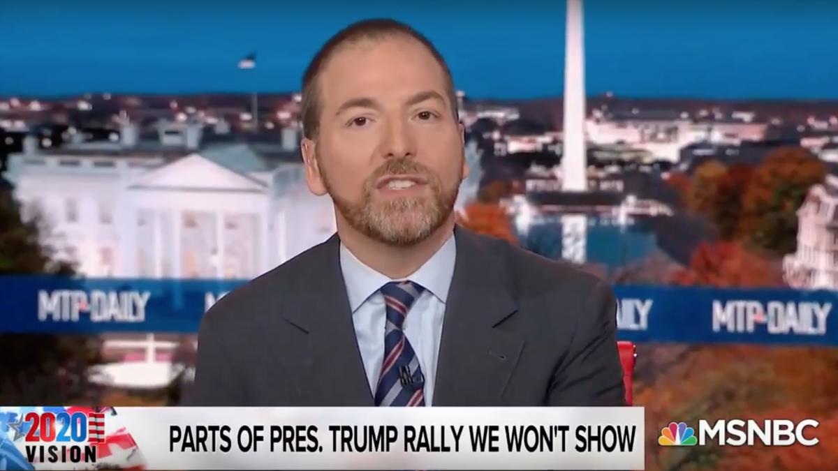 Chuck Todd refuses to air 'vicious' Trump attacks on Hunter Biden