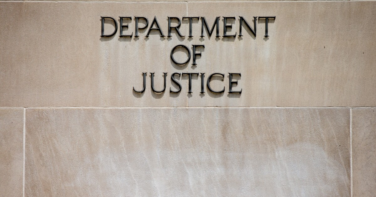 DOJ election crimes chief who resigned was connected to ...