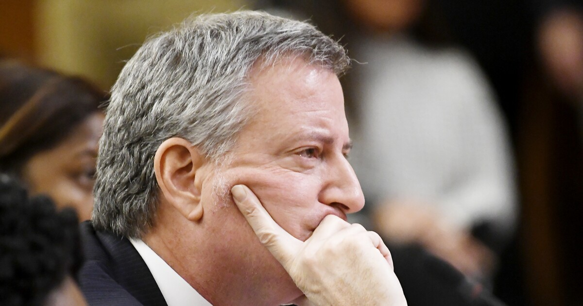 Bill de Blasio polling at 0%, unfavorable rating highest among 2020 candidates