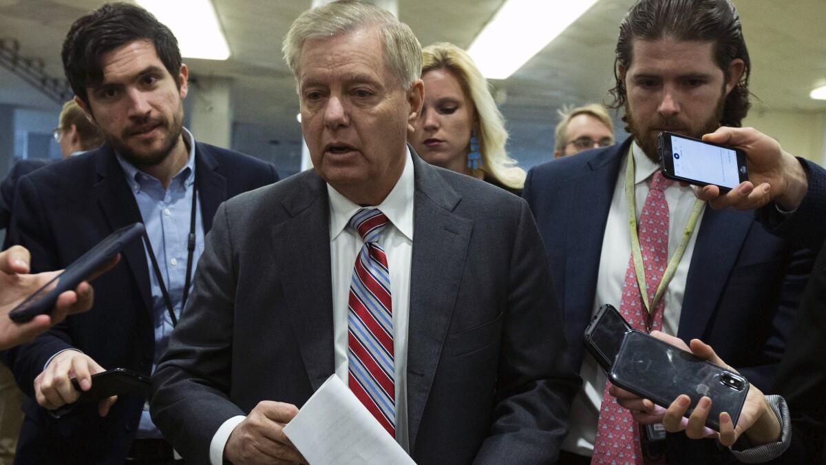 'Good job': Lindsey Graham congratulates Adam Schiff on impeachment trial performance