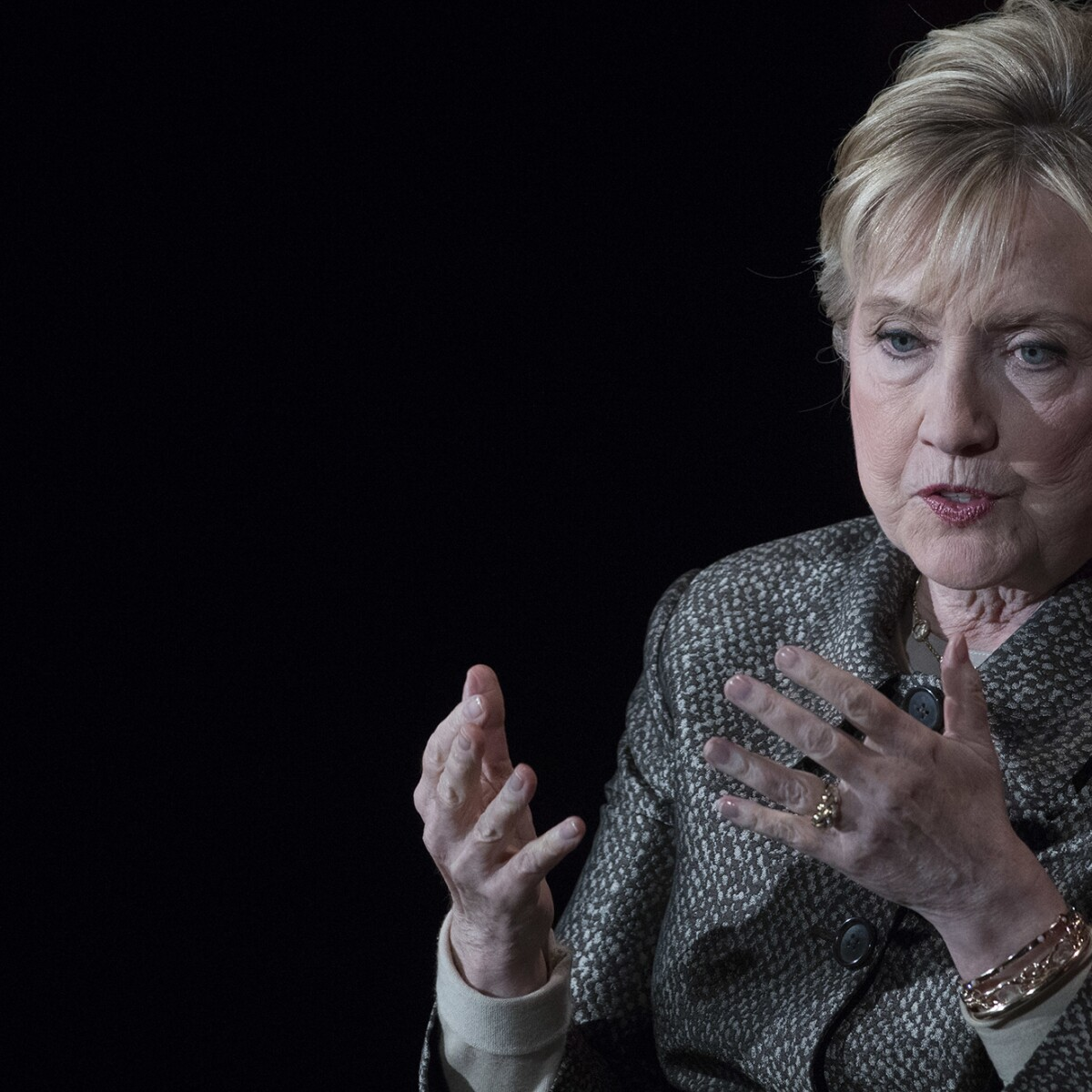 Hillary Clinton blames press for covering email scandal 'like it was Pearl Harbor'
