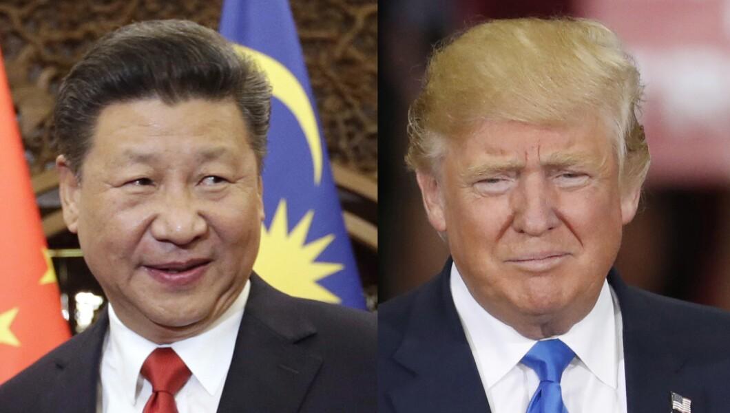 111416 Xi Trump call pic