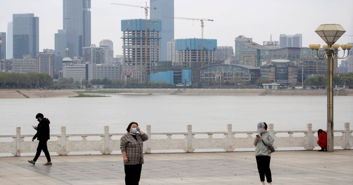Accusing eyes turn on China as America plunges...
