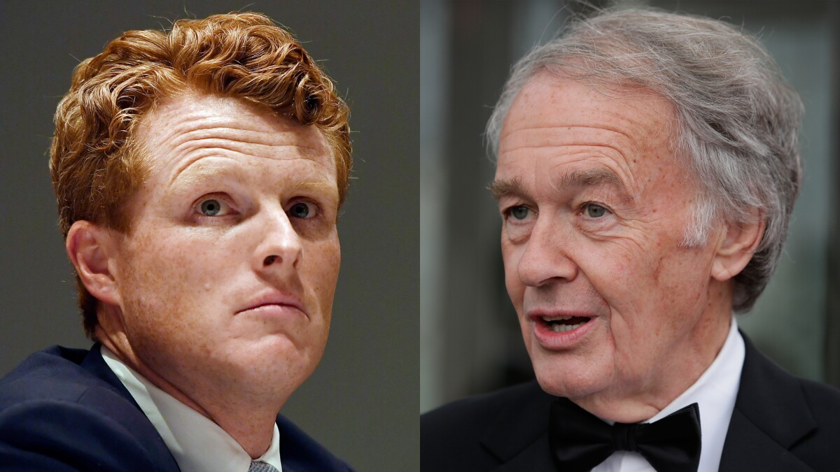 Joe Kennedy III has no good reason to primary Ed Markey except vanity