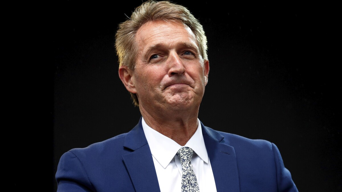 Jeff Flake reveals which 2020 Democrats he'd vote for