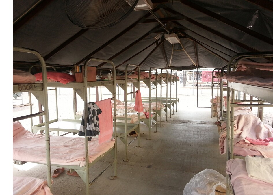 Arizona's Tent City Jail: Where prisoners wear pink