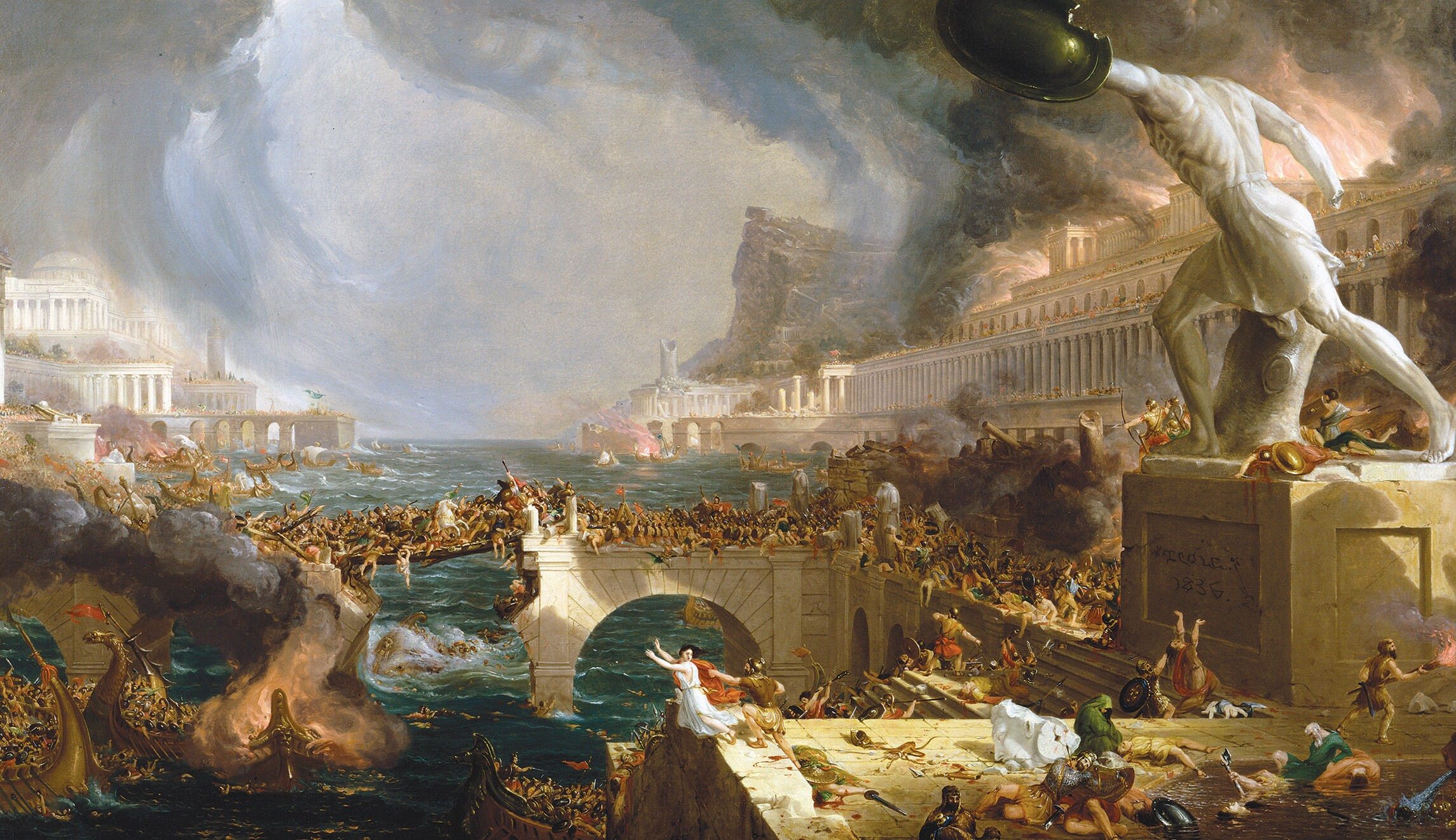 Barbarians at the Gates: Warren Treadgold on the Fall of the Roman Empire