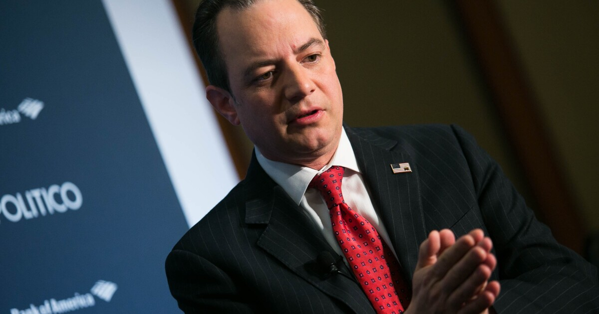 Reince Priebus joining Navy after being inspired by family of fallen SEAL