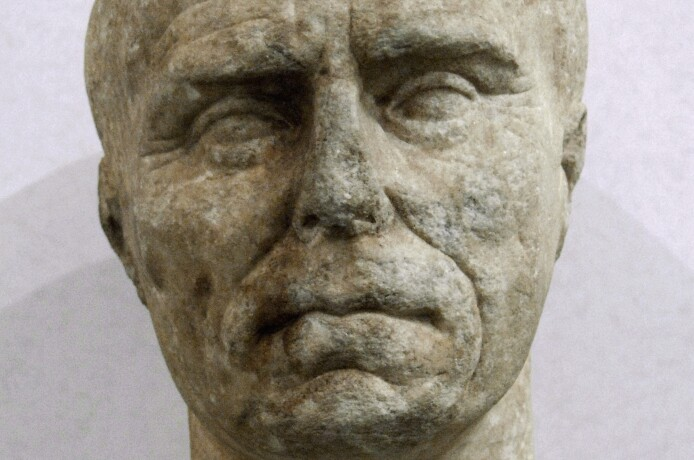 Bust of an elderly Roman