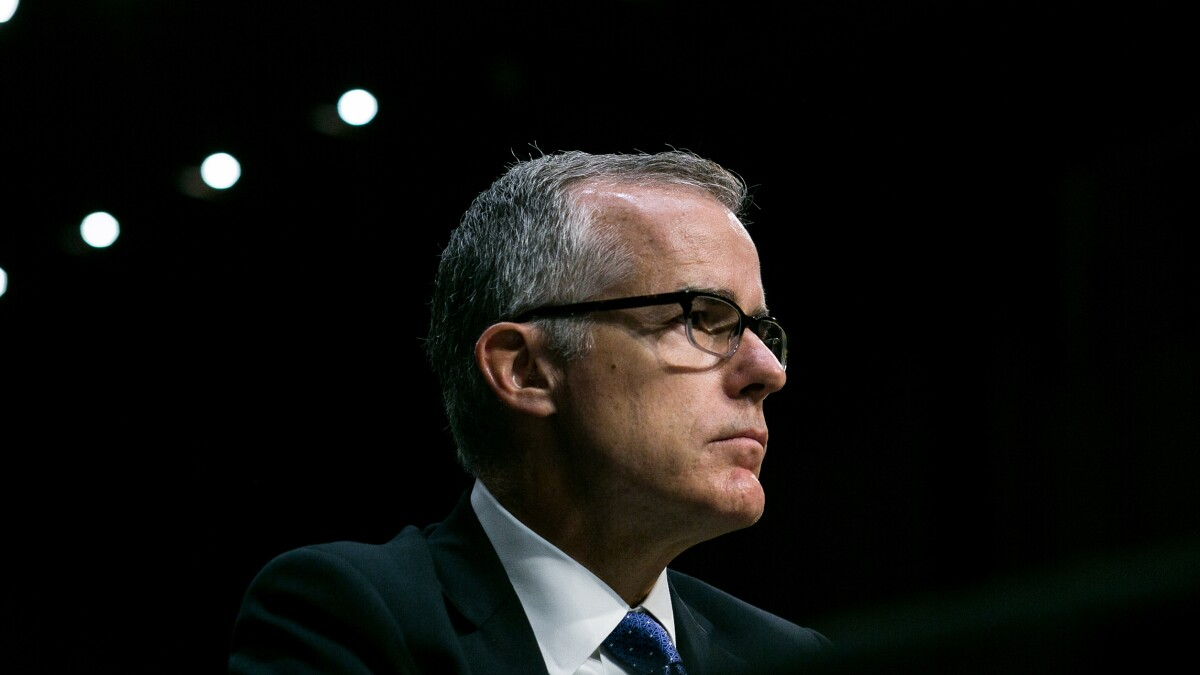 FBI records indicate DOJ considering prosecuting Andrew McCabe over leaks