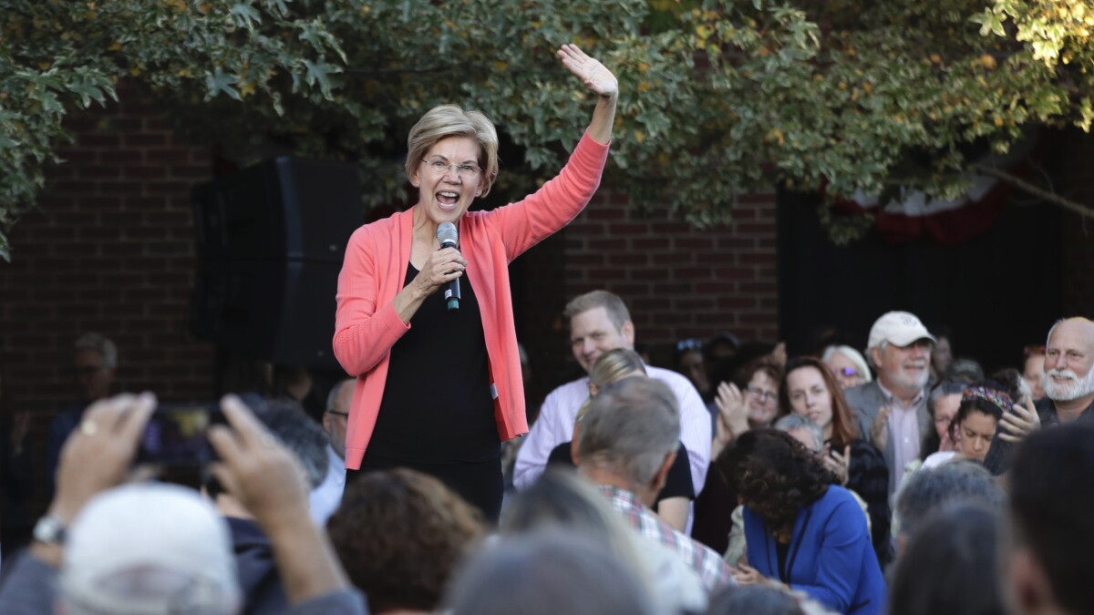 Warren raked in nearly $25M in third quarter, eclipsing Biden by $9M