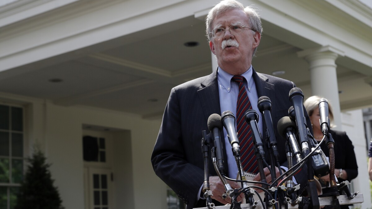 John Bolton worried Trump was granting favors to autocratic leaders: Book