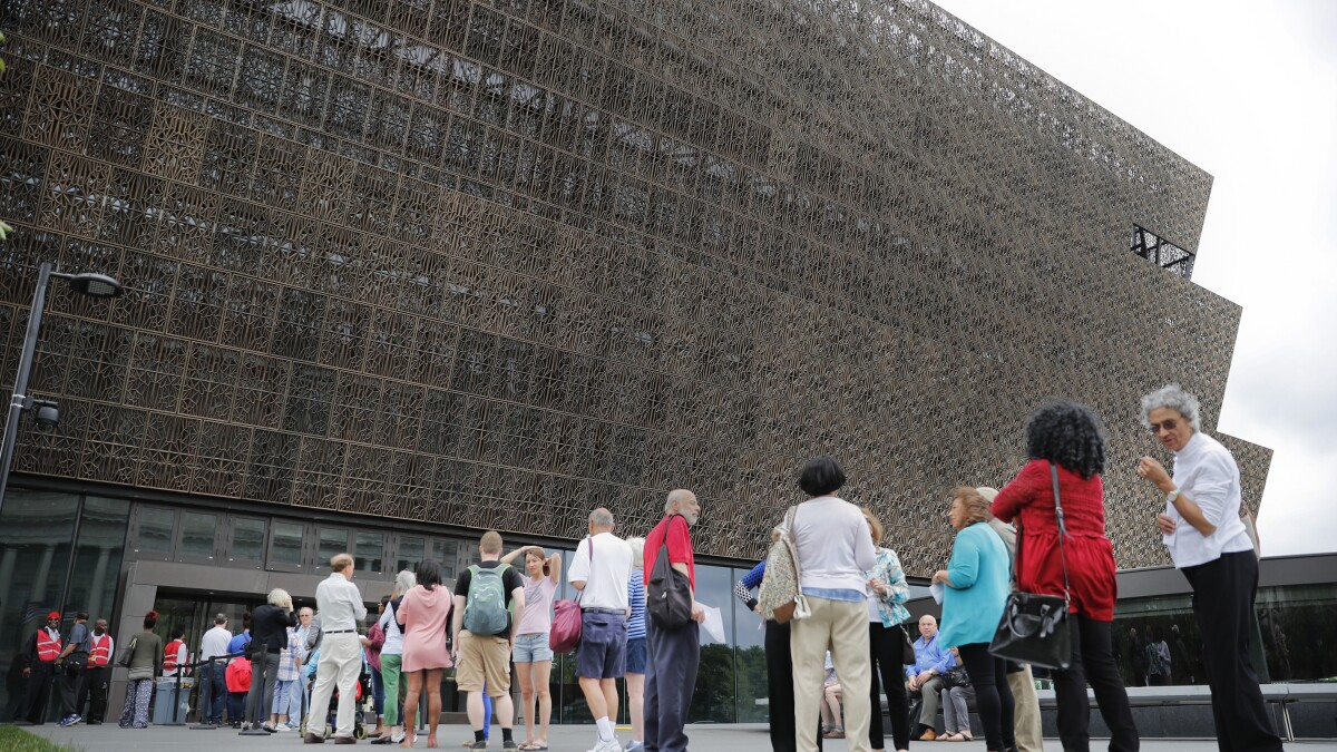 Smithsonian secretary: Trump 'did not want to see anything difficult' during tour of African American History Museum