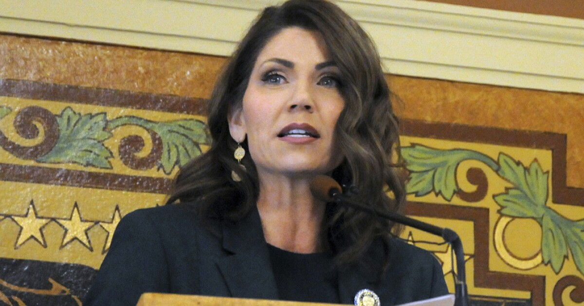 Gov. Kristi Noem rejects Trump's virus unemployment relief, citing healthy economy thanks to not locking down