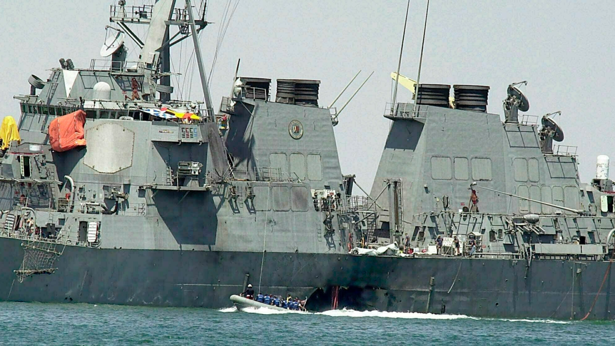 Nearly 20 years after USS Cole attack, commanding officer and Gold Star mother frustrated with slow pace of justice