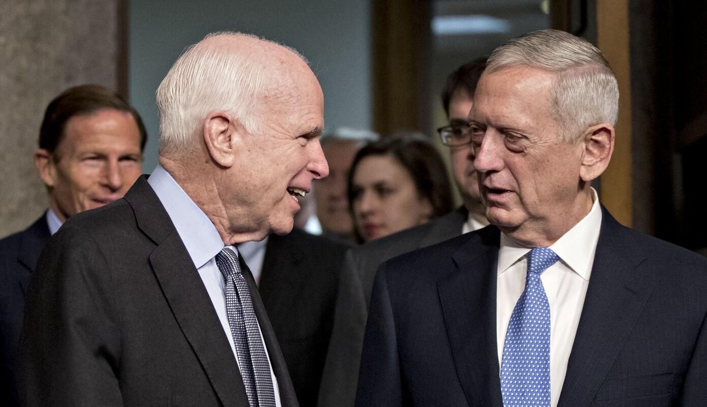 James Mattis John McCain