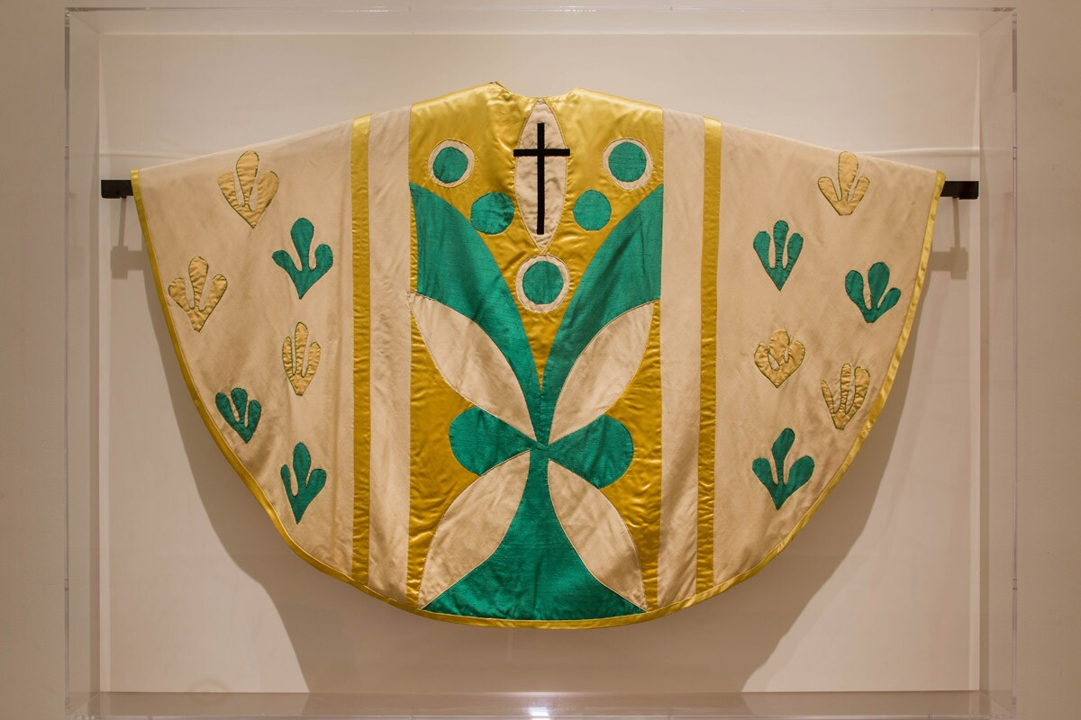 Chasuble designed by Henri Matisse.