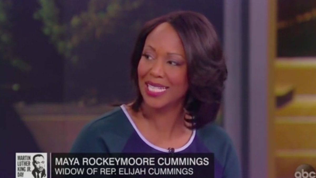 'It undermined his health': Elijah Cummings widow condemns Trump for calling husband's district 'infested'