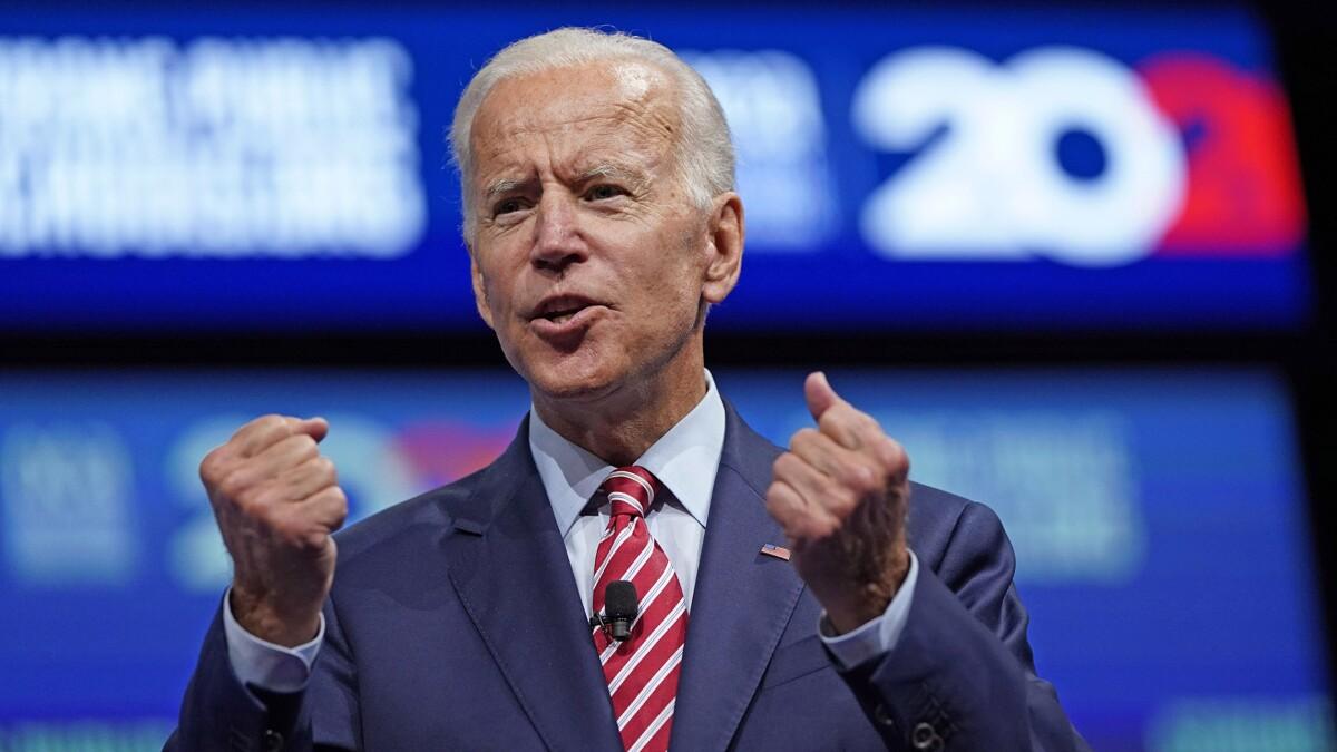 Joe Biden: If Trump doesn't have a racist bone in his body, he 'has no bones'