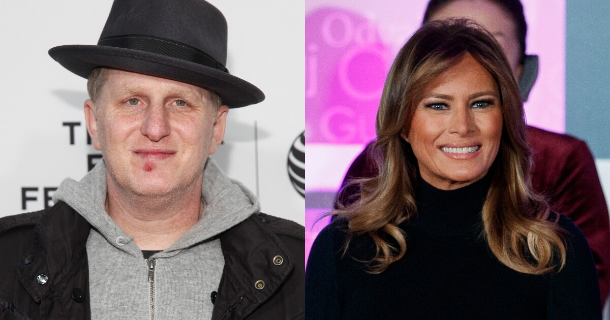 Actor tells fans to 'never forget' Melania and Trump are 'a hooker and a con man'