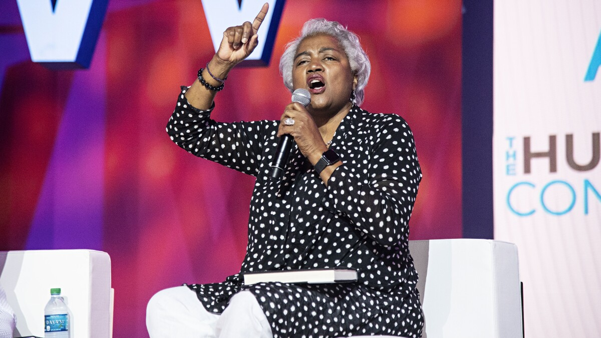 'Focus on your job!': Donna Brazile calls on Trump to 'repent'