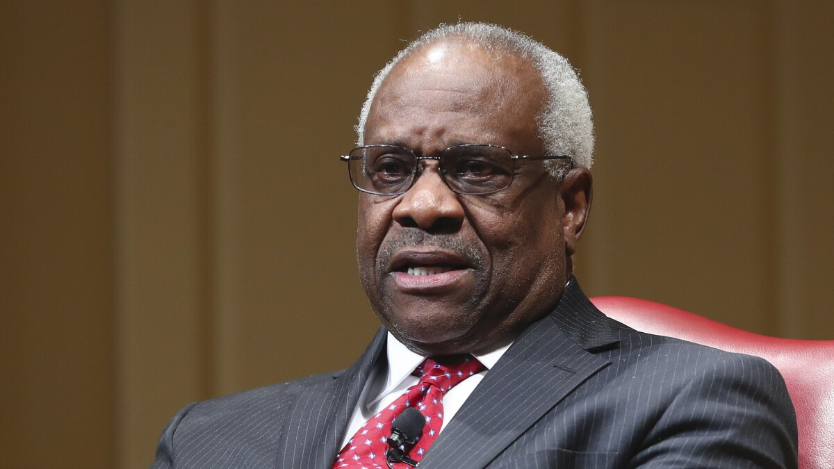 Undaunted, Justice Thomas seeks the court's atonement on abortion