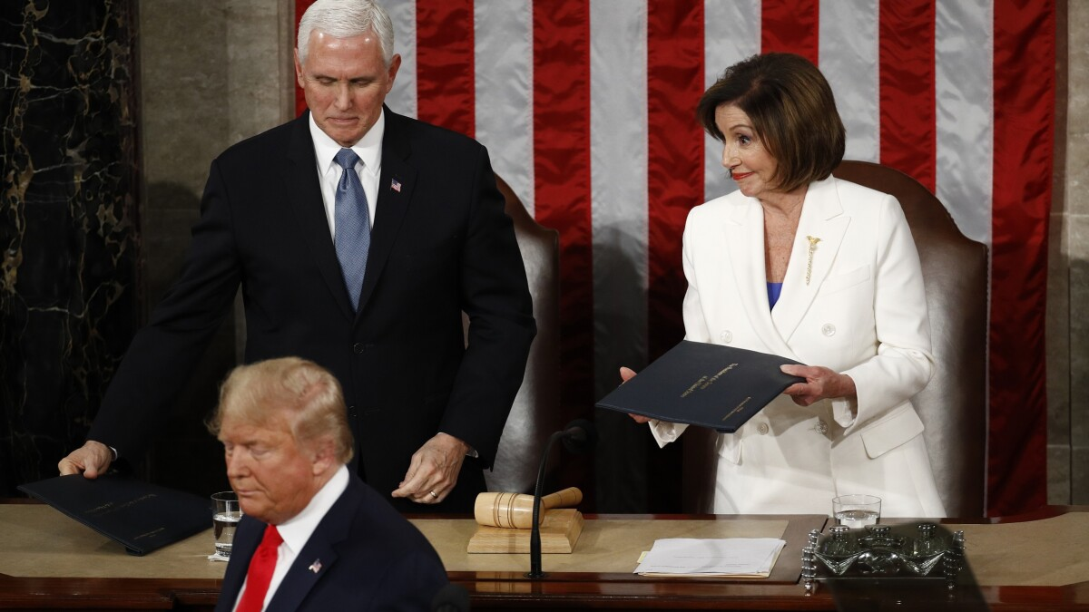 Which Democrats will call out Pelosi for shredding the norms?