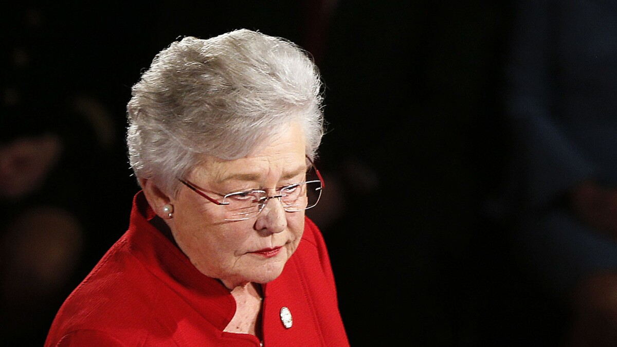 Alabama governor has lung cancer