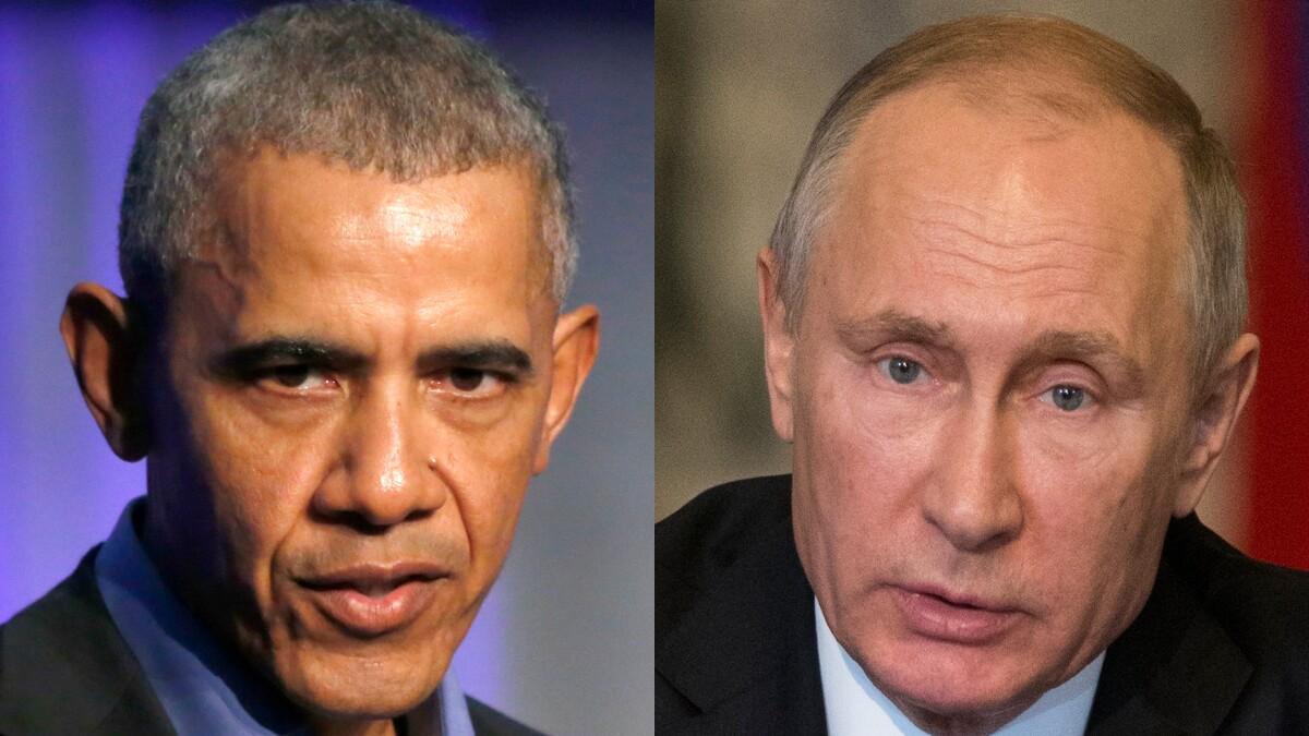 'I've given up on your president': Putin in 2013 revealed contempt for Barack Obama